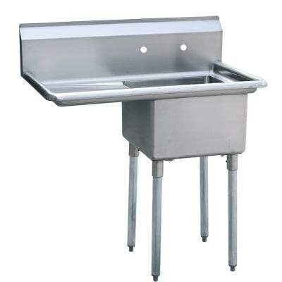 1 Compartment Sink With Left Or Right Drainboard