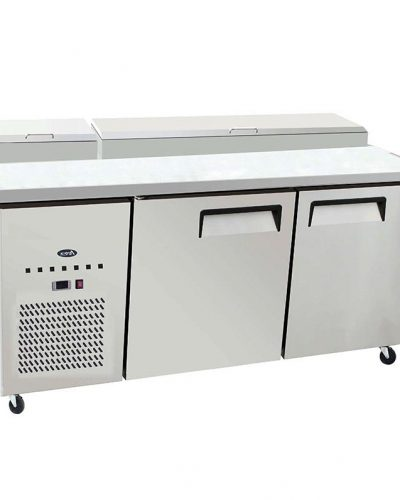 DB Restaurant Supply ATOSA MPF Pizza Prep Table - Restaurant supply prep table